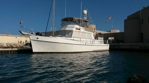 Grand Banks 46 Classic Trawler a Antibes tra privati