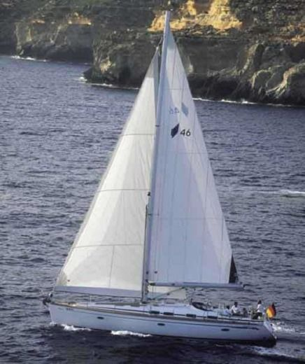 Charter sailboat in Alimos