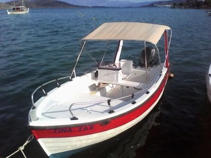 Rental Motorboat Creta Navis (Local Builder) Cruise Elounda