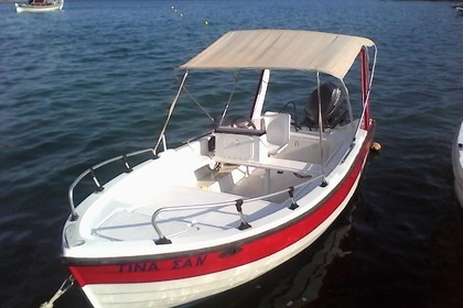 Miete Motorboot Creta Navis (local builder) 500 Elounda