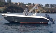 Motorboat Poseidon Blu Water 480Cc for hire