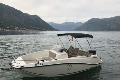 Hire Motorboat Quicksilver Activ 555 Open Kotor