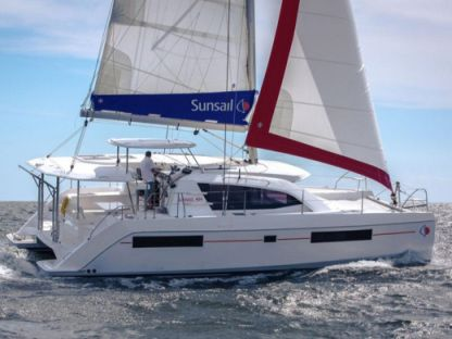 Rental Catamaran Sunsail 404 Leeward Islands
