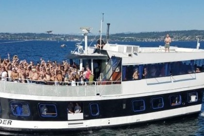Hire Motorboat Party boat 72 Seattle