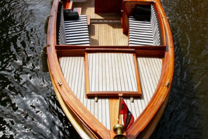 Rental Motorboat Custom Luxe Sloep Style Amsterdam