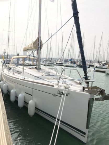 Rental Sailboat Dufour 405 Grand Large Opihr Gosport