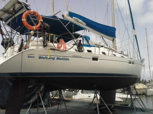 BENETEAU Océanis 461 in Le Marin for hire