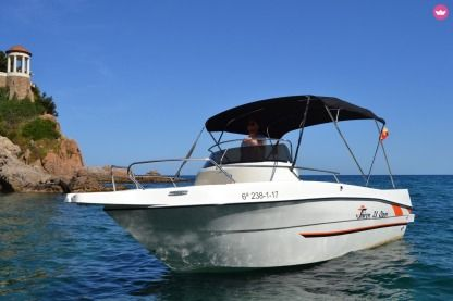 Rental Motorboat Shiren 23 Open Blanes