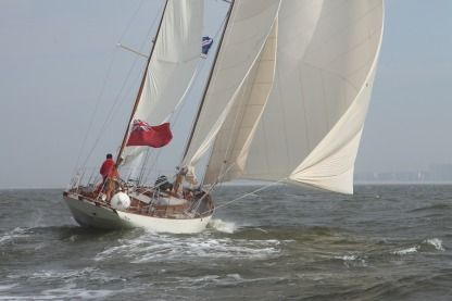 Rental Sailboat Reed Cook Construction Yawl John G. Alden 267-F Nieuwpoort