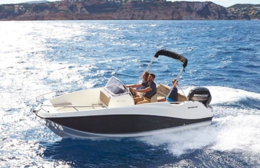 Motorboat Quicksilver Activ 555 Open for rental
