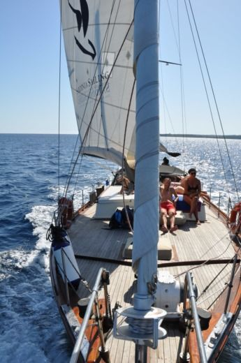 Sailboat Italnautica Motorsailer Armato A Ketch peer-to-peer