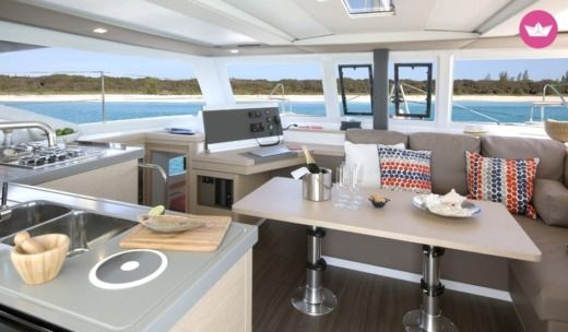 Fountaine Pajot Lucia 40 in Cannes for hire