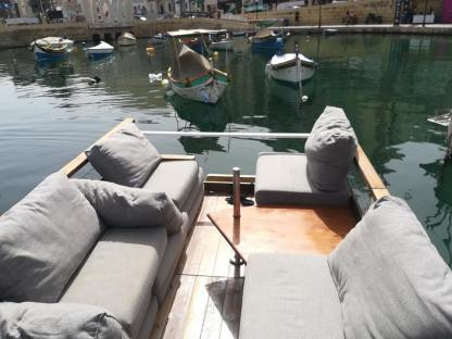Rental Catamaran Waterlily Boat Flounge Cabana Saint Julian's