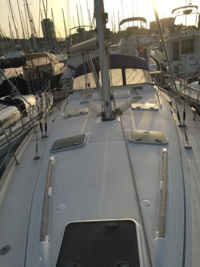 Sailboat Beneteau 411 for hire
