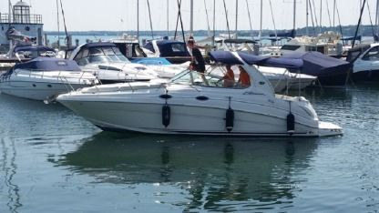 Rental Motorboat Sea Ray Sundacncer 315 Moniga del Garda