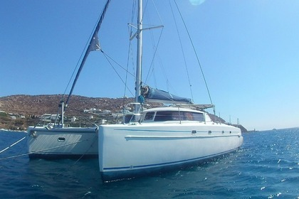 Charter Catamaran FOUNTAINE PAJOT BELIZE 43 Mykonos