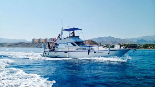 Charter motorboat in Benidorm