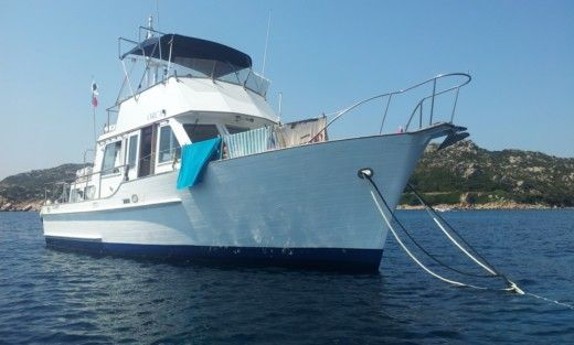 Island Gypsy 36 in Villeneuve-Loubet for hire