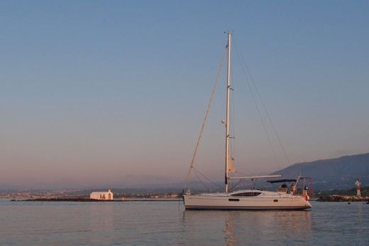 Jeanneau Sun Odyssey 46 Ds in Agia Marina for hire