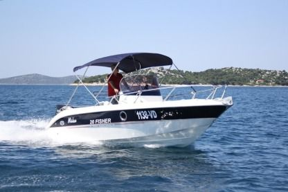 Miete Motorboot 2014 Fisher 20 Vodice