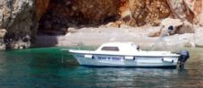 Rental motorboat in Rabac