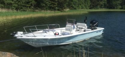 Rental Motorboat Sea Pro 24 Bay Blue Stockholm