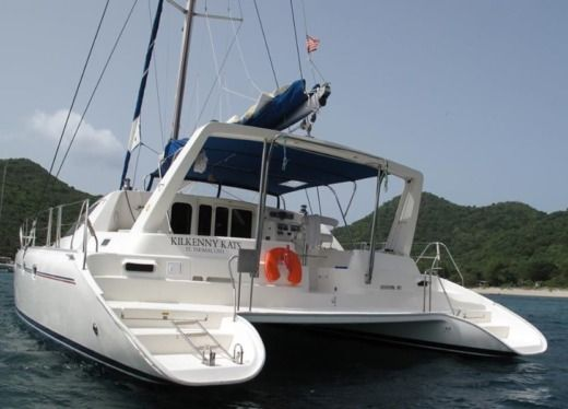 Rental catamaran in Saint Vincent and the Grenadines