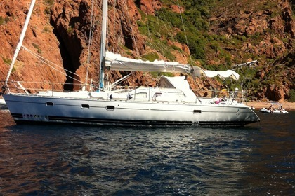 Hire Sailboat KIRIE - FEELING FEELING 416 Saint-Florent