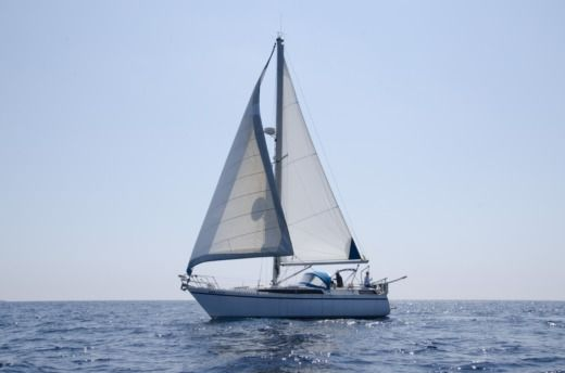 Charter sailboat in Barcelona