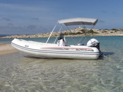 Selva Marine 470 in Ibiza for hire