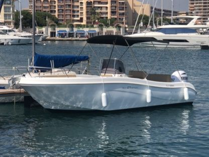 Rental Motorboat Allegra All 21 Open Fréjus