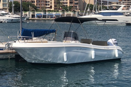 Hire Motorboat Allegra All 21 open Fréjus