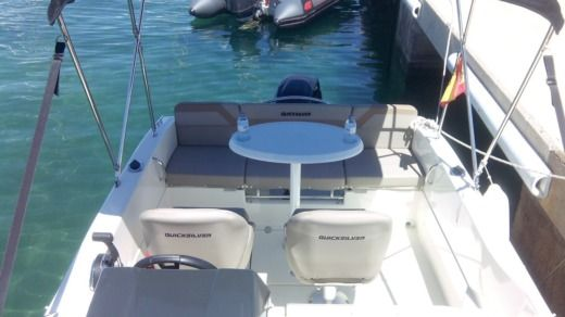 Motorboat QUICKSILVER ACTIV 455 CABIN peer-to-peer