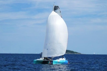 Location Catamaran Mark Pescott custom Phuket