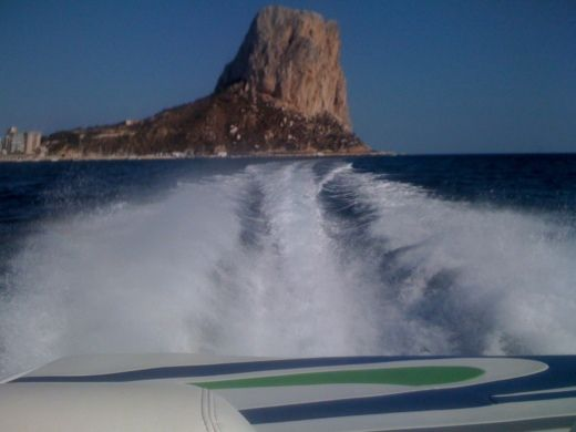 Charter motorboat in Alicante