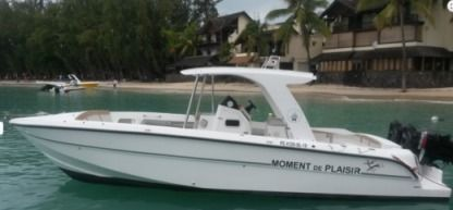 Rental Motorboat Yacht Management 29Ft Grand Baie