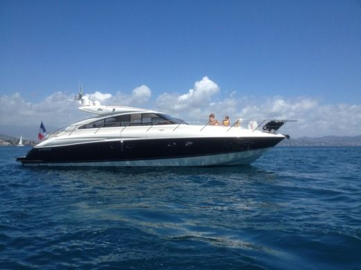 Charter Motorboat Princess 16 V 53 Cannes