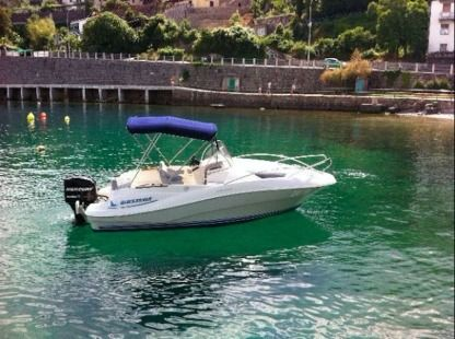 Rental Motorboat Quicksilver 635 Commander Opatija