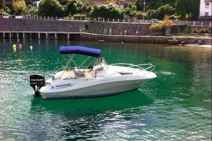 Charter Motorboat QUICKSILVER 635 COMMANDER Opatija