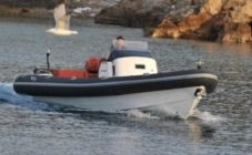 Charter rIB in Antiparos