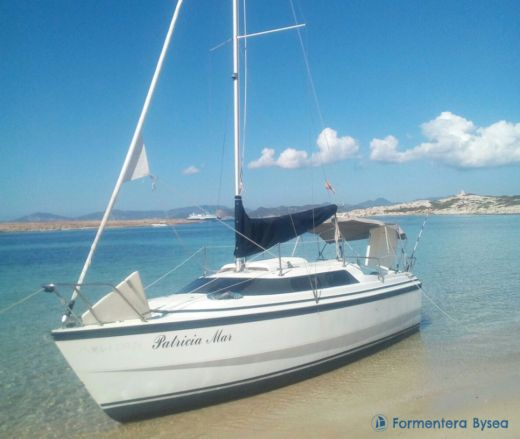 Macgregor 26X in Formentera for rental
