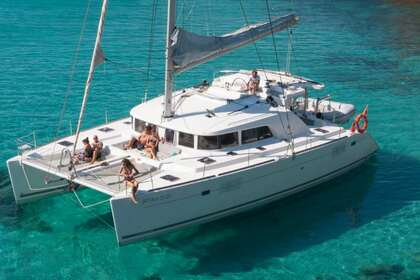 Location Catamaran LAGOON 440 Ibiza