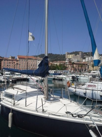 Rental Sailboat Jeanneau Sangria Nv (1982) Ajaccio