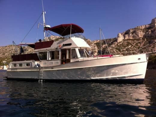 American Marine Grand-Banks Yacht-Marine 42 Pieds in Marseille peer-to-peer