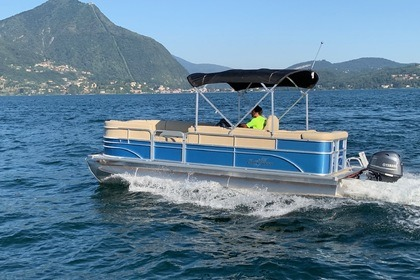 Rental Motorboat SUNSHASER PARTY BOAT LUXURY Verbania