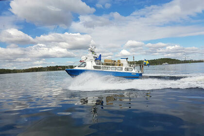 Hire Motorboat Custom Motor boat Stockholm