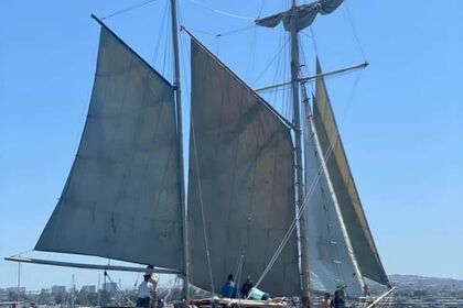 Hire Sailboat Hugh Angleman Mayflower Brigantine Ketch Newport Beach