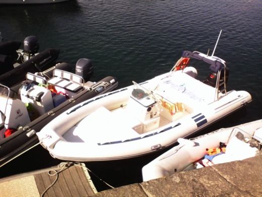 RIB NORTHSTAR 205WRT for hire