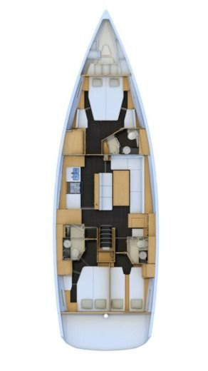 Sailboat Jeanneau Sun Odyssey 54DS peer-to-peer