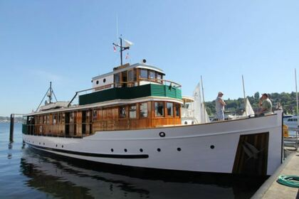 Hire Motorboat Classic Yacht  87' Seattle